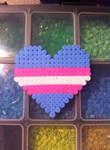 Transgender pride Heart