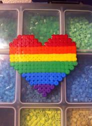 Pride Heart by mininete