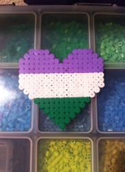 Gender Queer heart by mininete