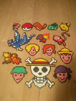 perler creation gift from unknown person ? :P