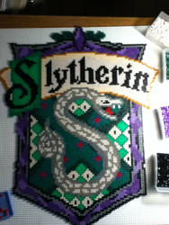 Slytherin house emblem by mininete