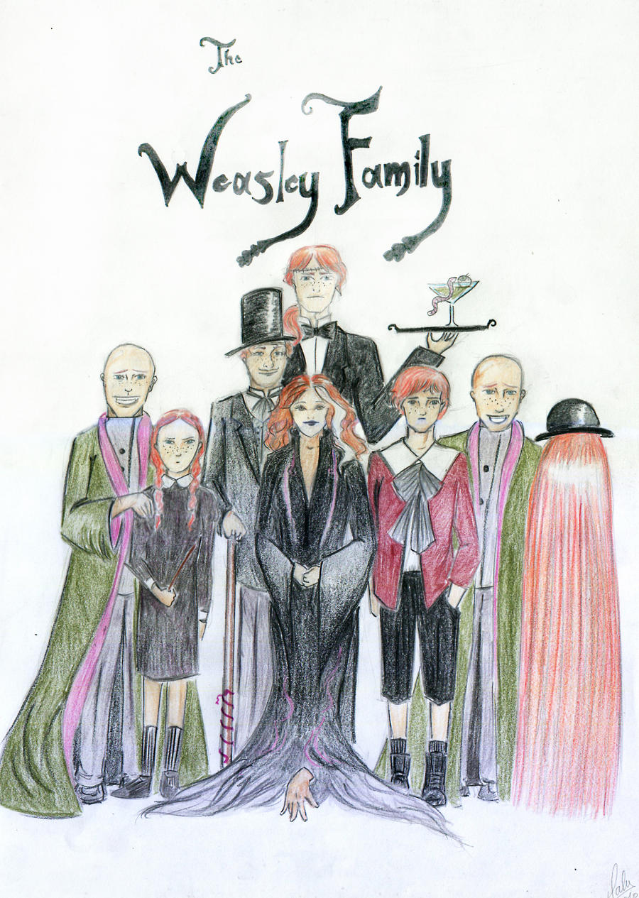 The Weasley Family by palo-stick on DeviantArt