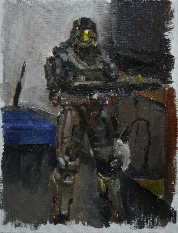 Oil painting practise 07 by torei