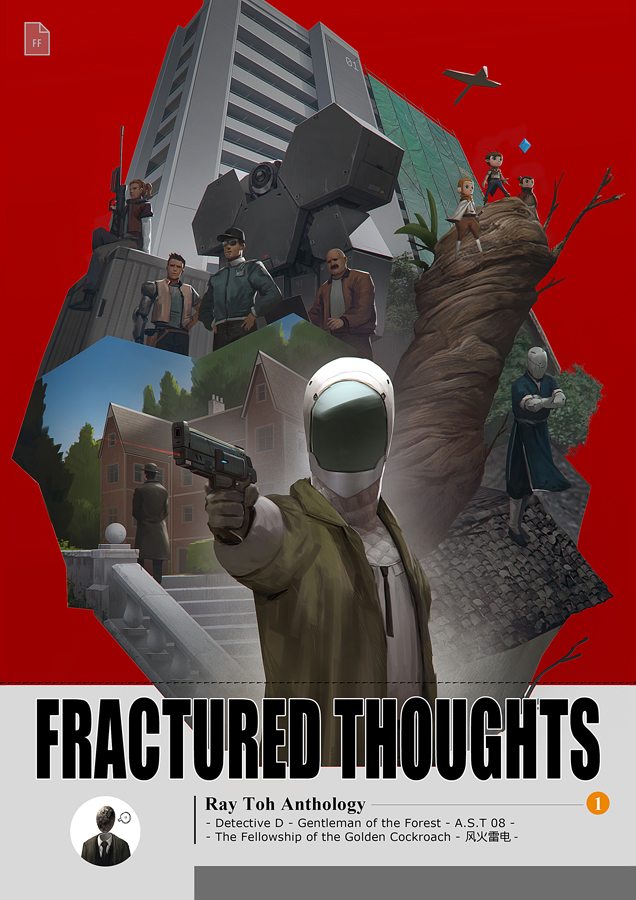Fractured Thoughts Anthology Vol 1 by torei