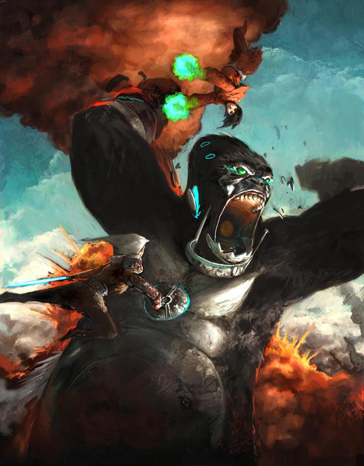 Kong by torei