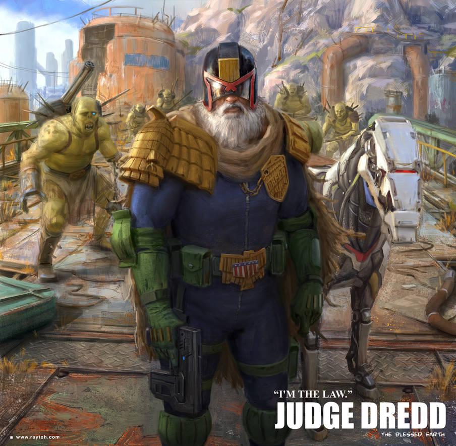 JUDGE DREDD - Fanart | 17 May 2019 by torei