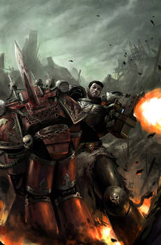 Warhammer 40k Cover