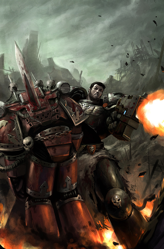 Related Articles: Warhammer 40000: Dawn Of War II - Chaos Rising Artwork