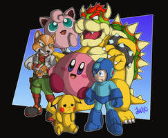 Super Smash Bros by MAYO101