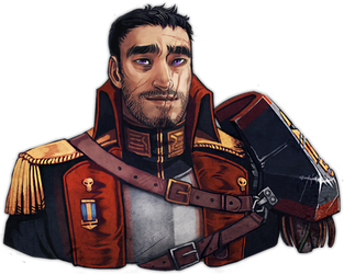 Commissar Talon Gunner by DamnTorren