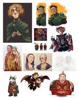 Character Art Dump