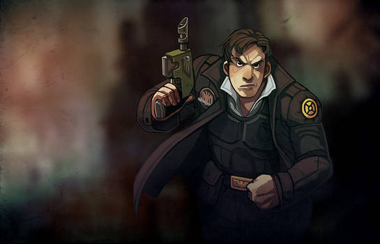 Officer Pavel - Naval MP and Hard Ass