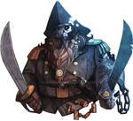 Bronzebeard - Dwarven Undead Pirate