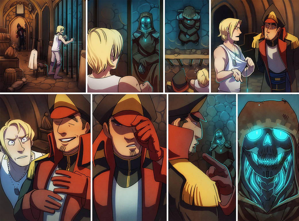 Eagle Ordinary 033 - Beginner's Interrogation by DamnTorren