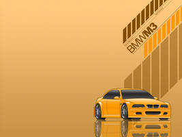 BMW M3 Wallpaper by nouseforaname