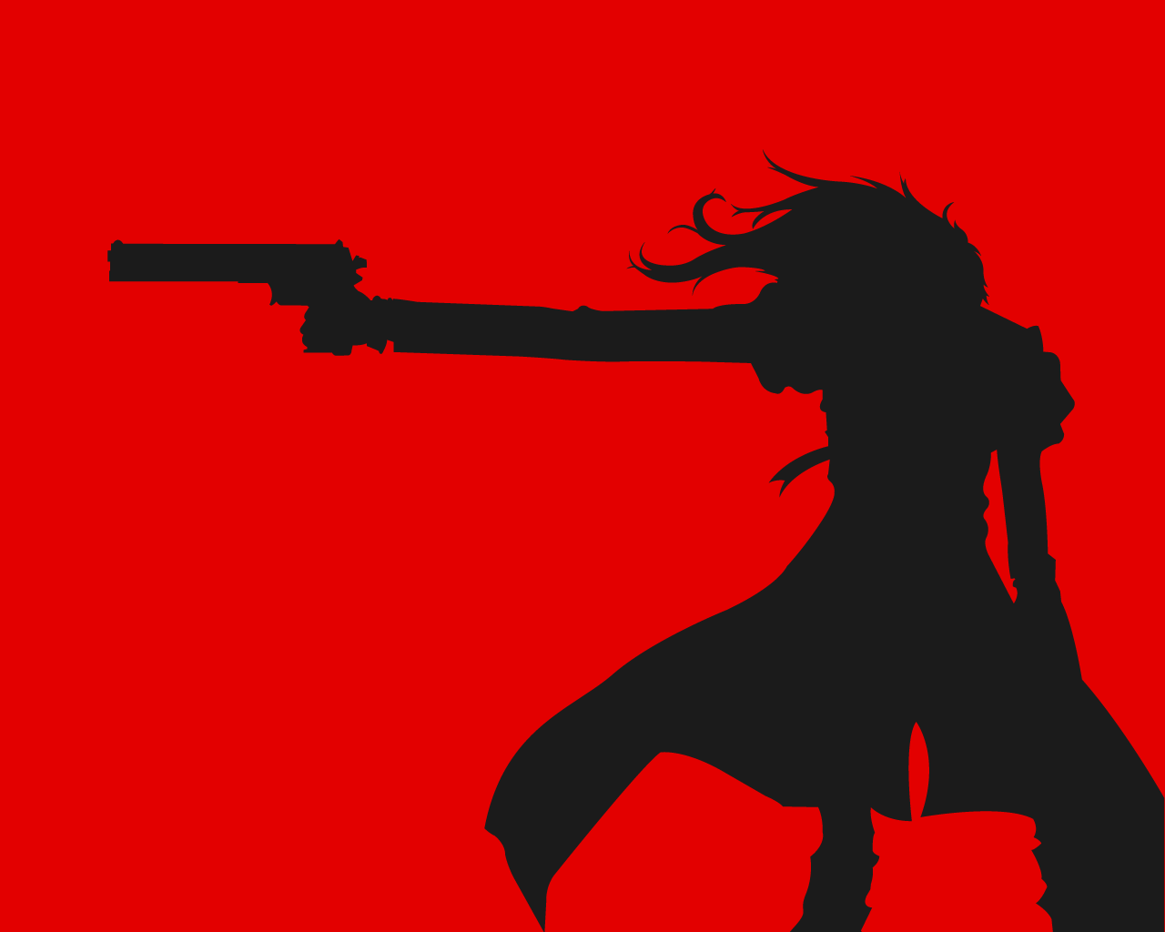 alucard-silhouette by nouseforaname