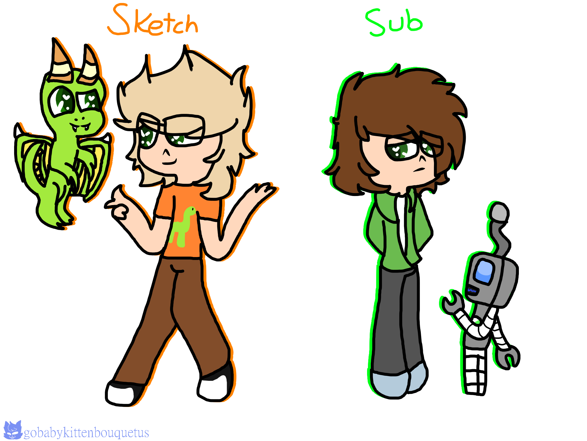 Sketch And Sub By Theocelotesdogs On Deviantart