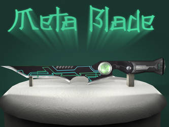 Very Low Poly - Cyberpunk themed dagger