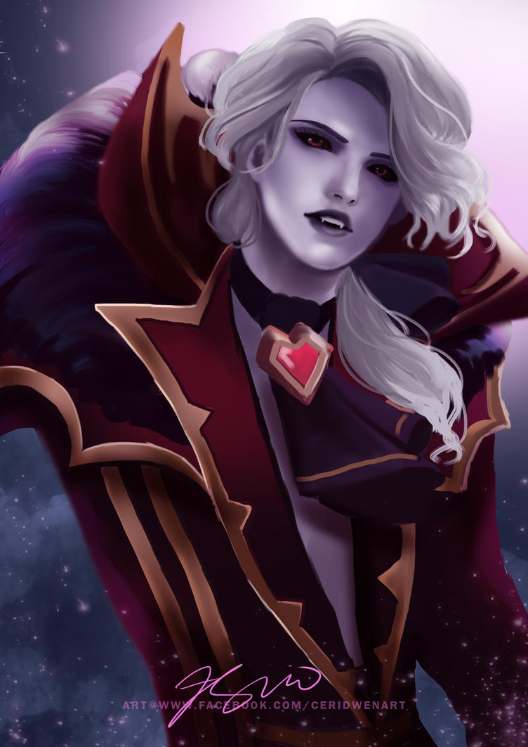 MOBILE LEGENDS: Alucard  Viscount by CeridwenArt on DeviantArt