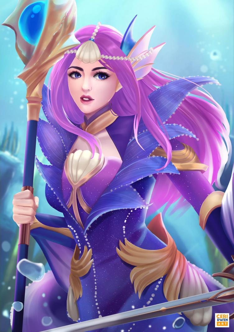 MLBB: Mermaid Princess by CeridwenArt