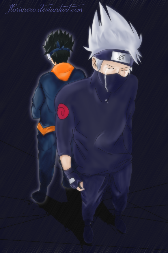 I miss you [Kakashi and Obito] by florixnero
