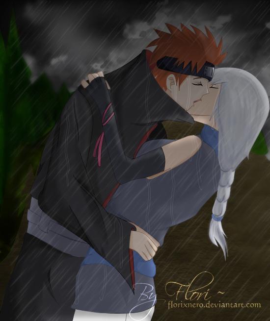 The last kiss - YahiAmy by Hatake-Flor