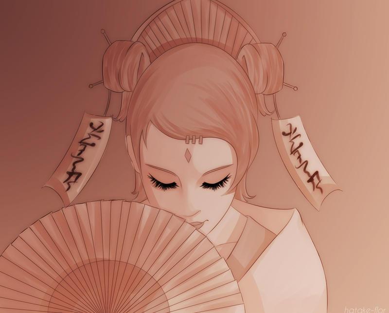 Mito Uzumaki by florixnero