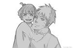 Papa Naruto and his little princess