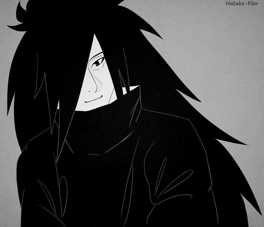 Madara smiling by Hatake-Flor
