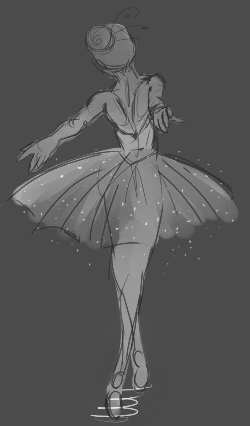 ballerina by MoonLightRose17