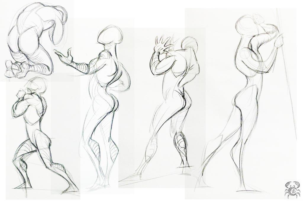 Figure Drawing 1 by MoonLightRose17