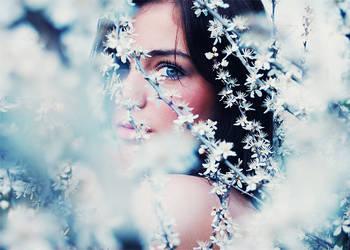 Spring Fairy by byebyeanna