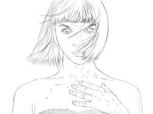Girl, 2021 Portrait Study