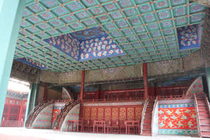 theatrical stage by Wangyunteng