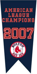 2007 American League Champions - Boston Red Sox