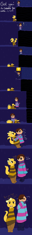 Undertale Comic: Got You! by kirigirl