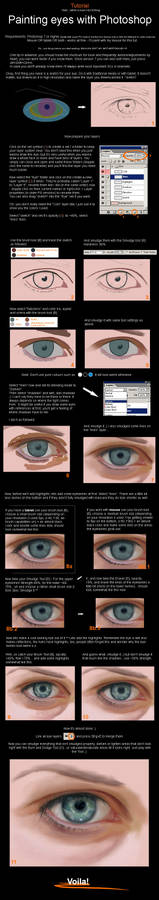 Photoshop - Painting an Eye