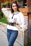 European peasant blouse