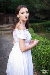 white dress by simonamoonstock