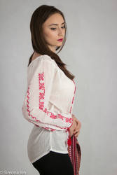Romanian blouse stock by simonamoonstock