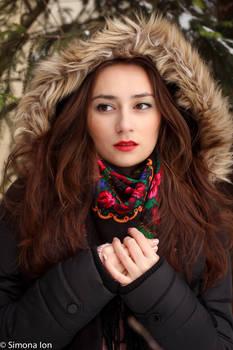 Winter portrait stock 02