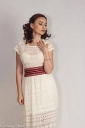 white dress stock 03 by simonamoonstock