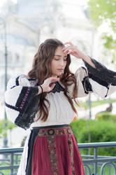 Folk dress from Transylvania 01 by simonamoonstock