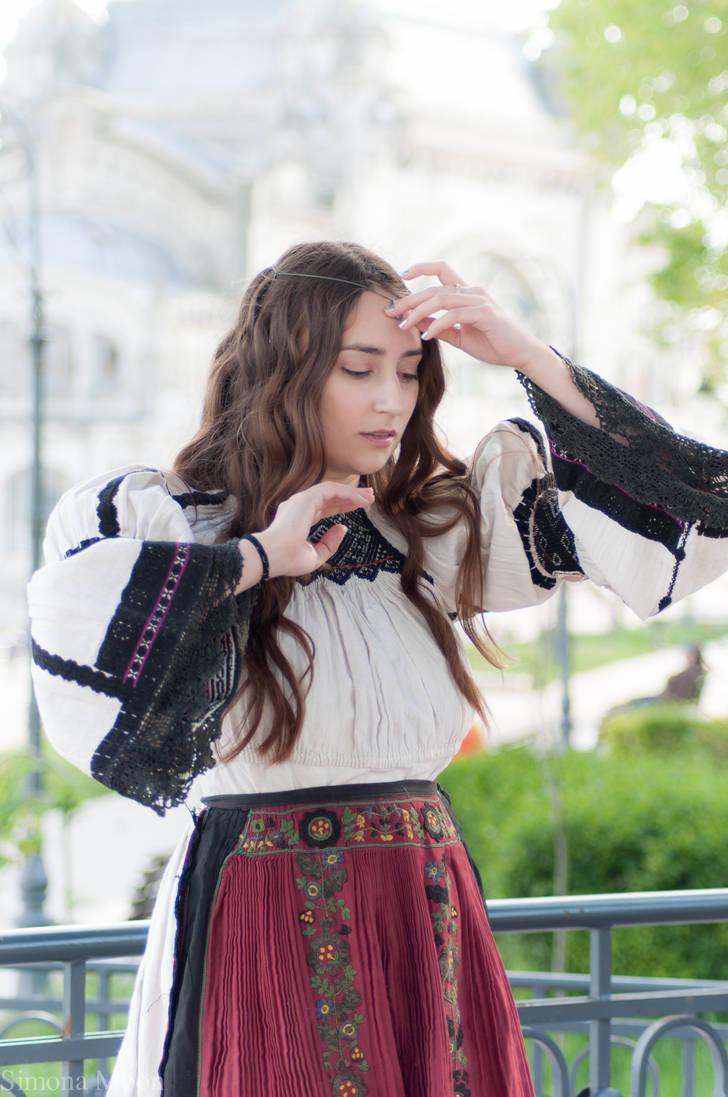 054cc6e1d4 Folk dress from Transylvania 01 by simonamoonstock