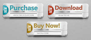 FREE Multipurpose PSD Web Buttons