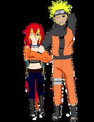 Naruto and Kuwata by SuzakuFire101