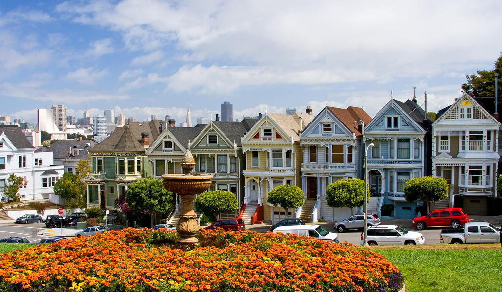 San francisco victorian houses by mksven on deviantart for San francisco victorian houses