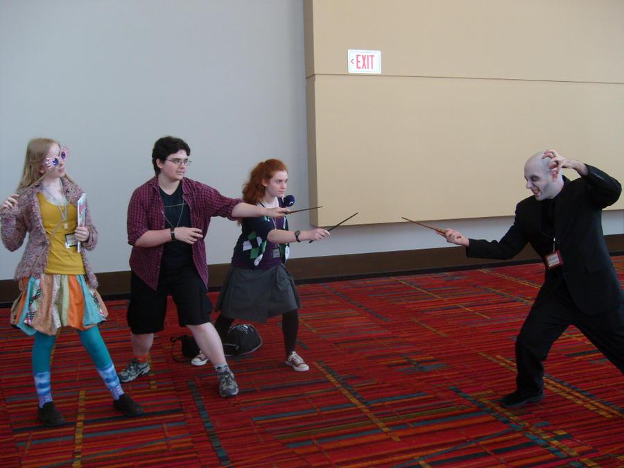 CTCon 2011- Us vs. Voldemort by tiraldan