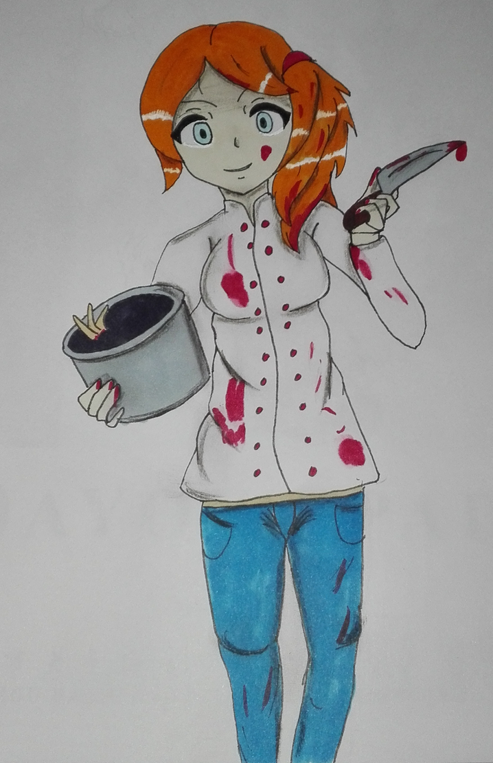 Cooking Girl by Mai94
