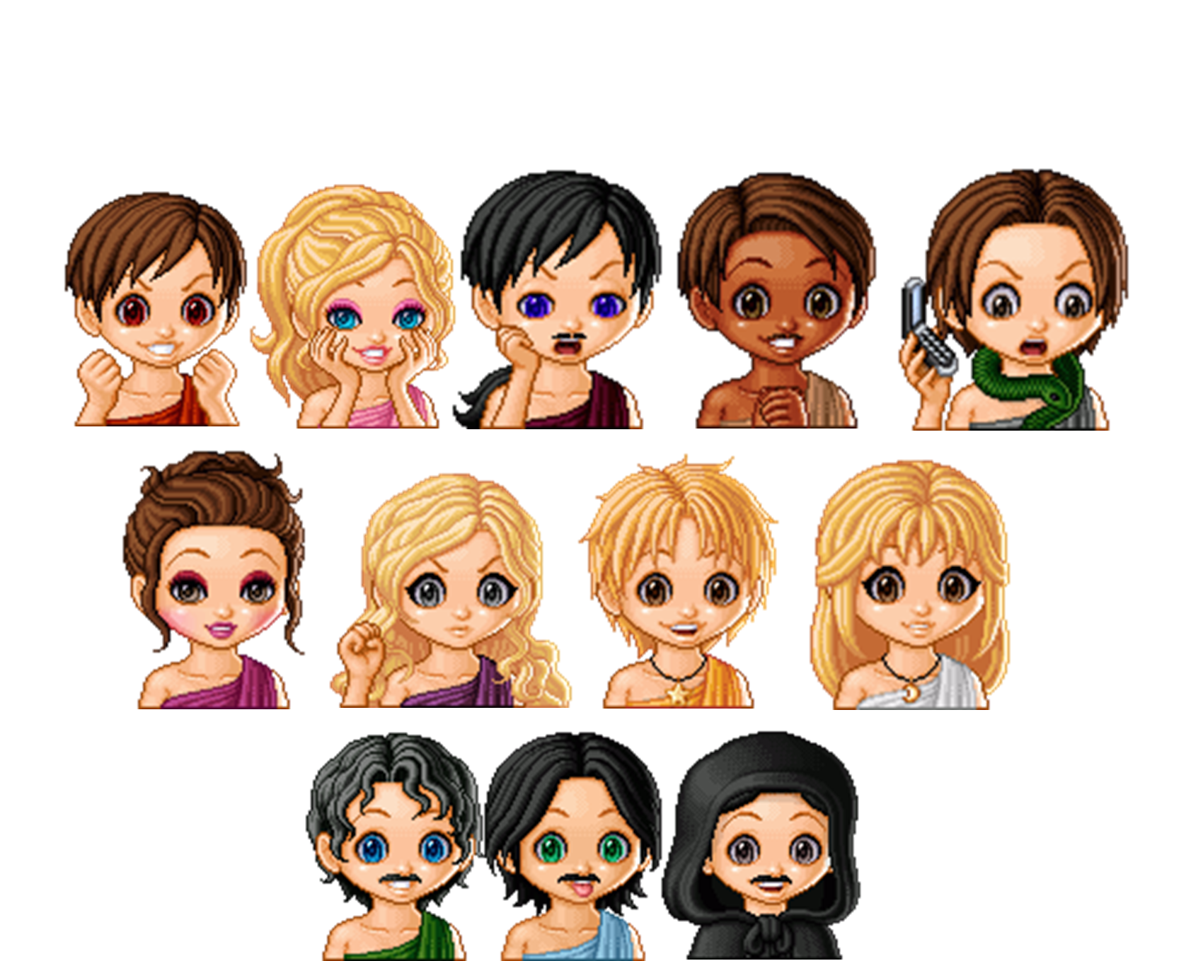 Chibi Greek Gods and Goddesses by Percy-Annabeth99Anime Greek Gods And Goddesses